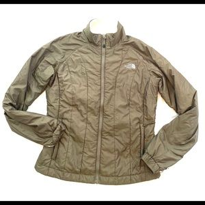 The North Face Brown Goose Down Jacket